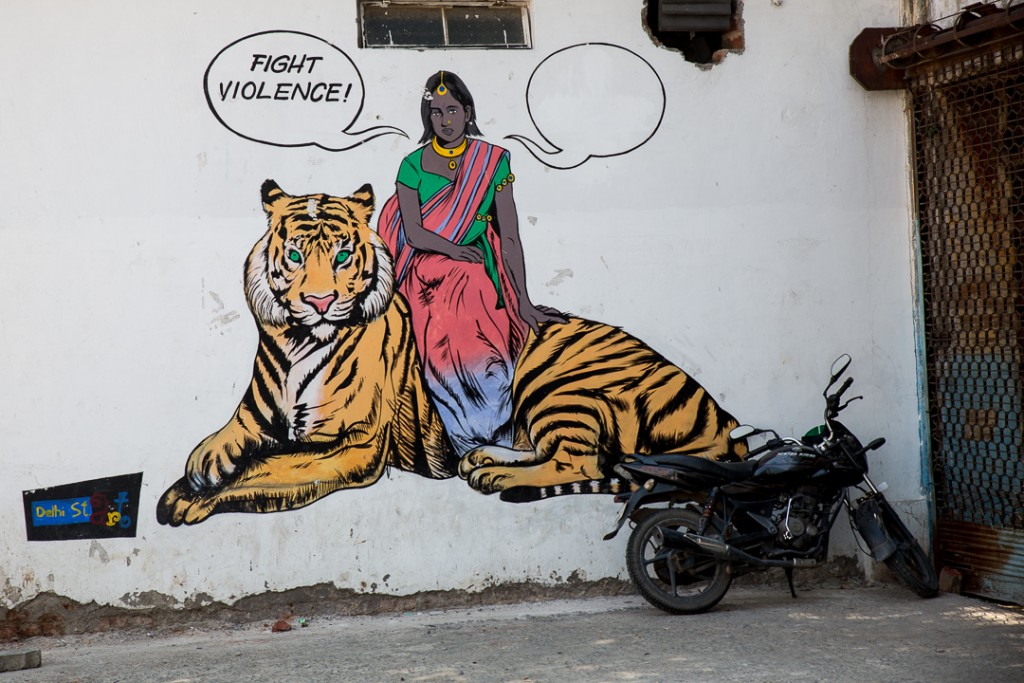 Street Art, Connaught Place, New Delhi. October 2, 2016 ©robertmoses