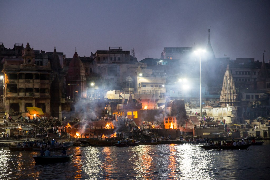 Cremation at Manikarnika Ghat, Varanasi. October 4, 2015. ©robertmoses