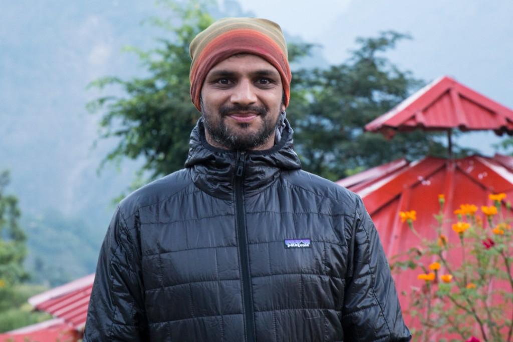 R. Sharath Jois in Guptakashi. October 18, 2016. ©robertmoses