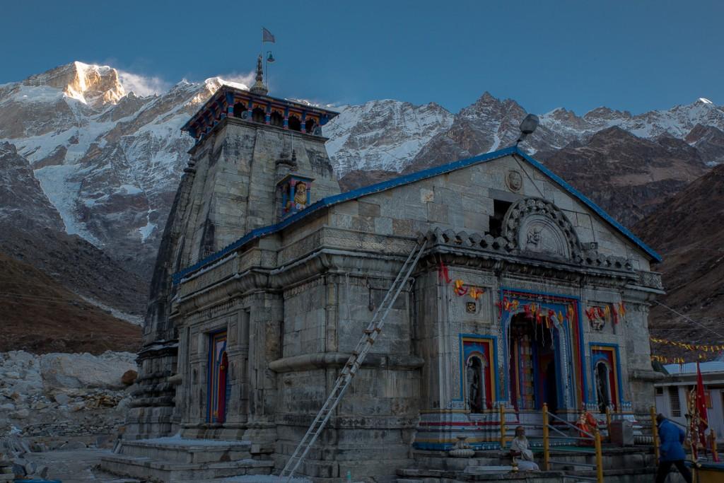Kedarnath Temple, Himalayas.  October 2015. ©robertmoses