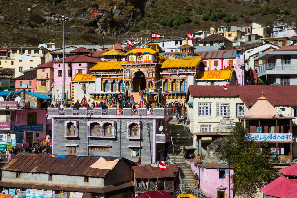 Sri Badrinath Dham, one of the holiest places in India. October 2015. ©robertmoses