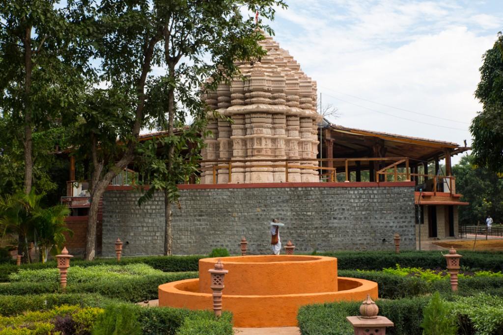 Sri Sri Radha Vrindavan Bihari Temple. December 2015. ©robertmoses