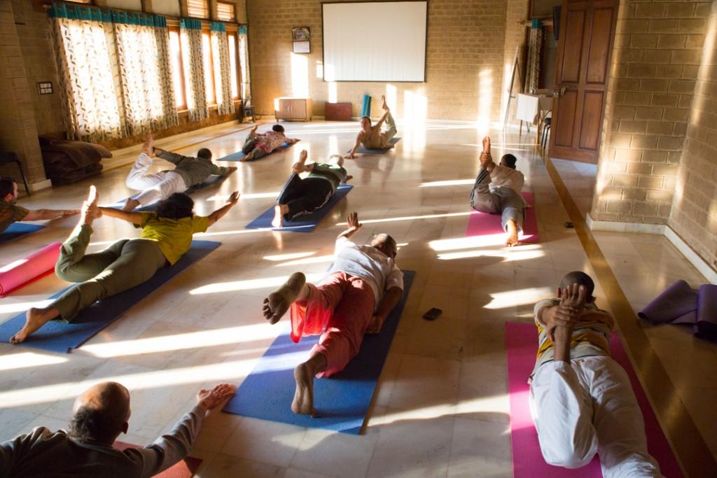 Yoga Class. December 2015. ©robertmoses