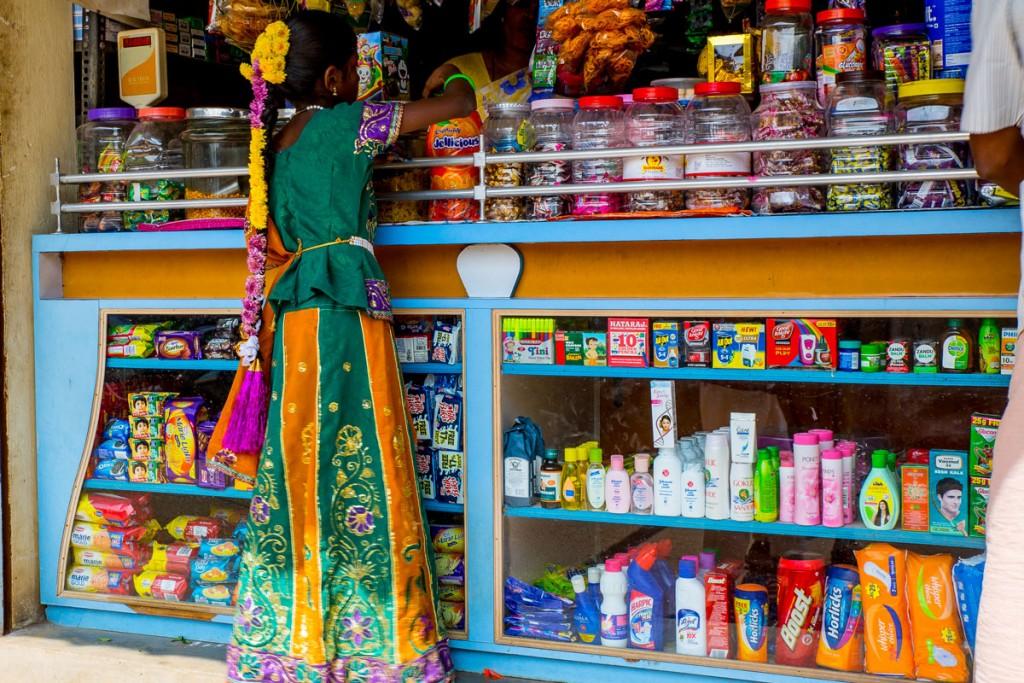 Reaching for sweets. Tiruvanamallai, Tamil Nadu. January 11, 2016. ©robertmoses