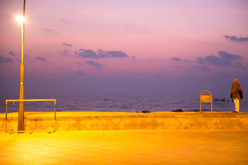 Sunrise over Bay of Bengal.  January 12, 2016. ©robertmoses