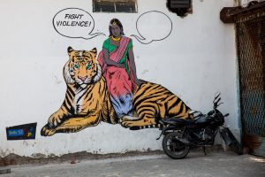 Street Art, Connaught Place, New Delhi. October 2, 2016 ©robertmoses