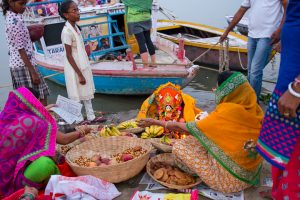Women in Varanasi observed the 'Jeevit Putrka Vrat' for a long life for their sons. October 5, 2015. ©robertmoses