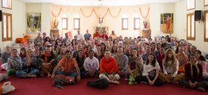 AYSR group at Tapovan Kuti, Uttarkashi, Uttarakhand, Himalayas. October 14, 2015. ©robertmoses
