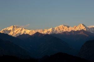 Kedarnath from Guptakashi. October 22, 2015. ©robertmoses