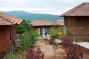 Kutirs amidst the hills - Amboli. ©robertmoses
